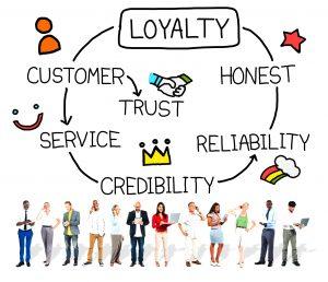 Loyal customers.